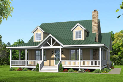 3 Bed, 3 Bath, 1990 Square Foot House Plan - #940-00013