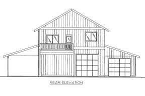 Mountain House Plan #039-00637 Elevation Photo