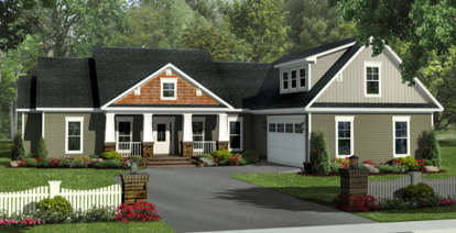 4 Bed, 2 Bath, 2140 Square Foot House Plan - #348-00271