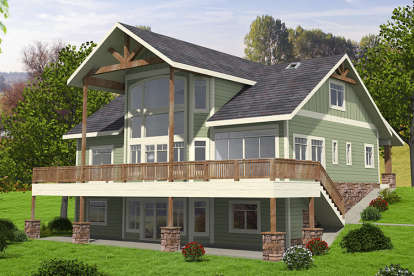 5 Bed, 3 Bath, 4603 Square Foot House Plan #039-00662