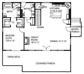 Main for House Plan #039-00671