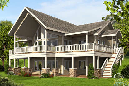4 Bed, 2 Bath, 2972 Square Foot House Plan #039-00679
