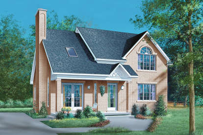 4 Bed, 2 Bath, 1817 Square Foot House Plan - #6146-00263