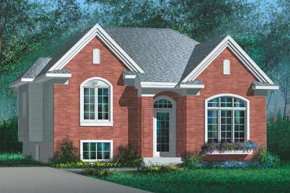 3 Bed, 1 Bath, 1094 Square Foot House Plan - #6146-00272