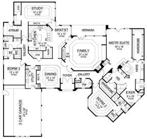 Main for House Plan #5445-00248