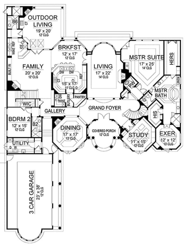 Main for House Plan #5445-00253