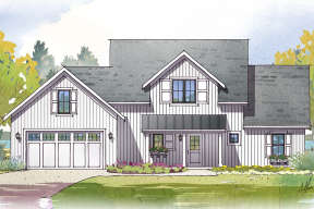 Traditional House Plan #1637-00126 Elevation Photo