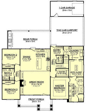 Main for House Plan #041-00145