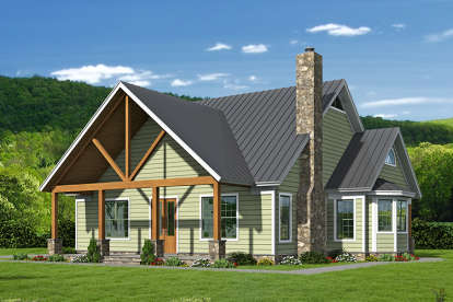 3 Bed, 3 Bath, 2300 Square Foot House Plan - #940-00017