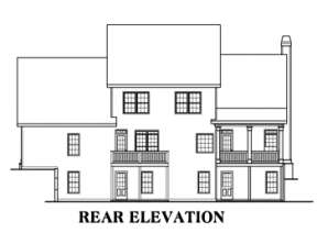 Craftsman House Plan #009-00002 Elevation Photo