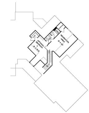Second Floor for House Plan #6082-00006