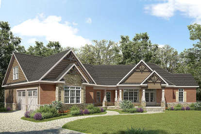 3 Bed, 3 Bath, 2767 Square Foot House Plan - #6082-00008