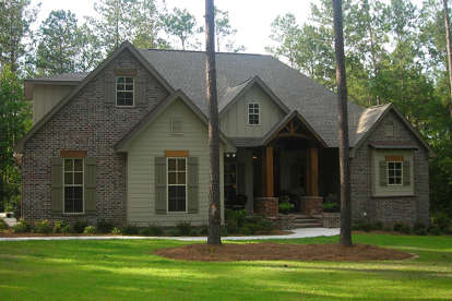 3 Bed, 2 Bath, 2597 Square Foot House Plan - #041-00152