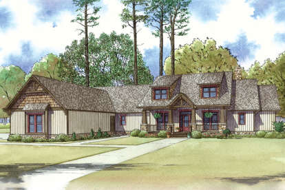 4 Bed, 3 Bath, 3925 Square Foot House Plan - #8318-00032