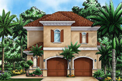 1 Bed, 1 Bath, 839 Square Foot House Plan - #1018-00262