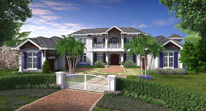 5 Bed, 5 Bath, 8899 Square Foot House Plan - #1018-00270