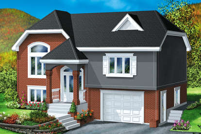 2 Bed, 1 Bath, 1682 Square Foot House Plan - #6146-00273