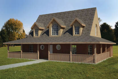 3 Bed, 2 Bath, 1846 Square Foot House Plan - #1754-00012