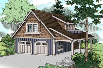 0 Bed, 1 Bath, 1947 Square Foot House Plan - #035-00735