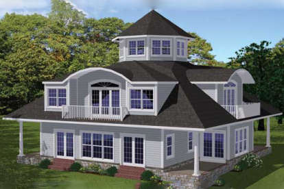 4 Bed, 3 Bath, 3650 Square Foot House Plan - #1754-00027