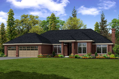 3 Bed, 2 Bath, 2684 Square Foot House Plan - #035-00739