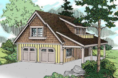 0 Bed, 0 Bath, 2315 Square Foot House Plan - #035-00758