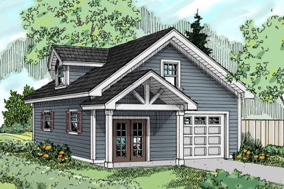 0 Bed, 0 Bath, 2103 Square Foot House Plan - #035-00759