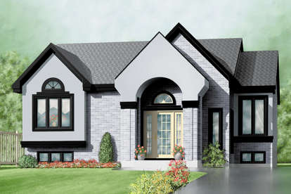 3 Bed, 1 Bath, 1332 Square Foot House Plan - #6146-00286
