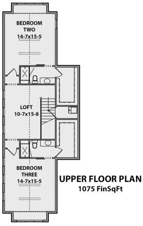 Second Floor for House Plan #5631-00062