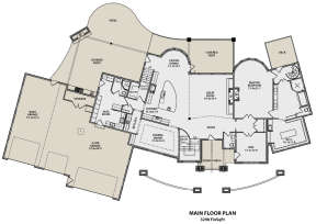 Main Floor for House Plan #5631-00071