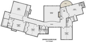 Second Floor for House Plan #5631-00071