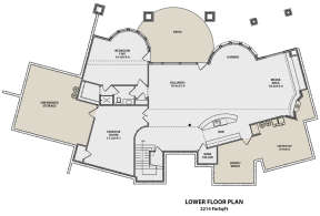 Basement for House Plan #5631-00071