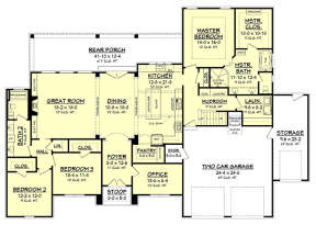 Main for House Plan #041-00158