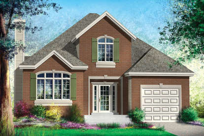3 Bed, 1 Bath, 1714 Square Foot House Plan - #6146-00319