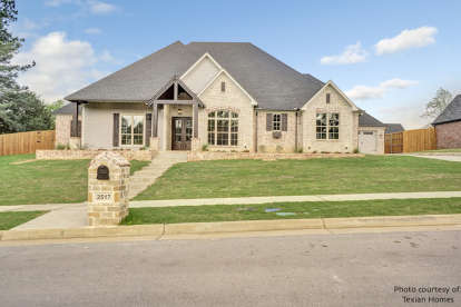 4 Bed, 4 Bath, 2688 Square Foot House Plan #110-01046