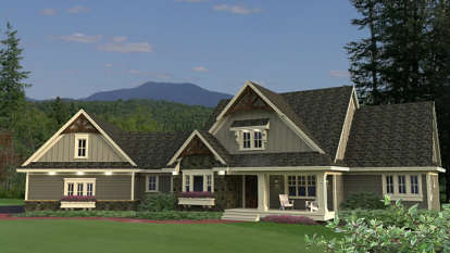2 Bed, 1 Bath, 3153 Square Foot House Plan - #098-00280
