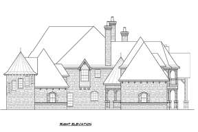 Luxury House Plan #5445-00269 Elevation Photo
