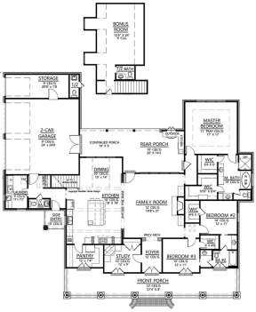 Main for House Plan #4534-00008