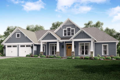 4 Bed, 3 Bath, 2759 Square Foot House Plan #041-00167