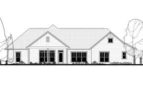 Craftsman House Plan #041-00167 Elevation Photo