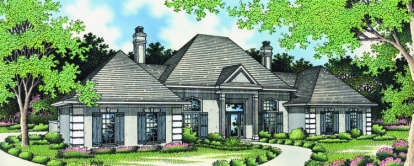 3 Bed, 2 Bath, 2023 Square Foot House Plan - #048-00121