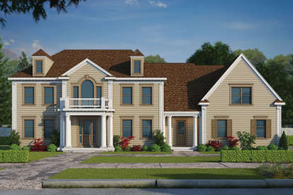5 Bed, 5 Bath, 5722 Square Foot House Plan - #402-01469