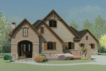 4 Bed, 4 Bath, 2761 Square Foot House Plan - #6082-00118
