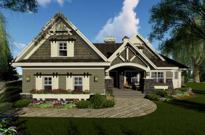 3 Bed, 2 Bath, 1971 Square Foot House Plan #098-00293