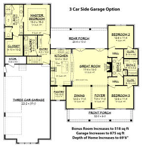 for House Plan #041-00168