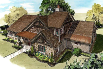 3 Bed, 3 Bath, 1689 Square Foot House Plan - #1907-00043