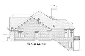 Craftsman House Plan #402-01479 Elevation Photo