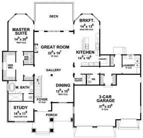 Main for House Plan #402-01479