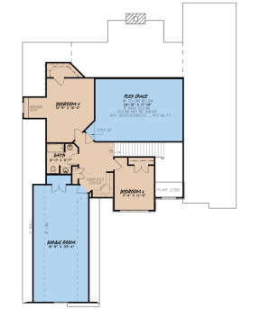 Second Floor for House Plan #8318-00046