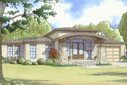 4 Bed, 3 Bath, 2506 Square Foot House Plan - #8318-00051